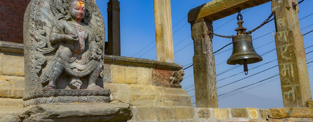 Экскурсия на целый день в храм Дакшинкали, Chovar ущелье и город Киртипур