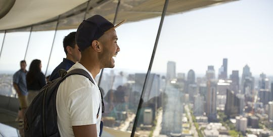 Seattle Space Needle plus Chihuly Garden and Glass combo ticket