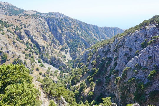 Imbros Gorge - from Heraklion