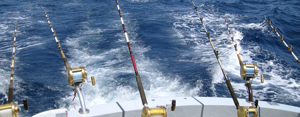 Pêche sportive à bord du White Striker