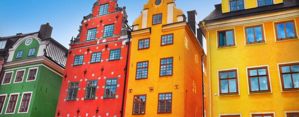 Visite à pied de la vieille ville de Stockholm