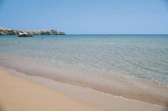 Seven Springs et la plage de Tsambika