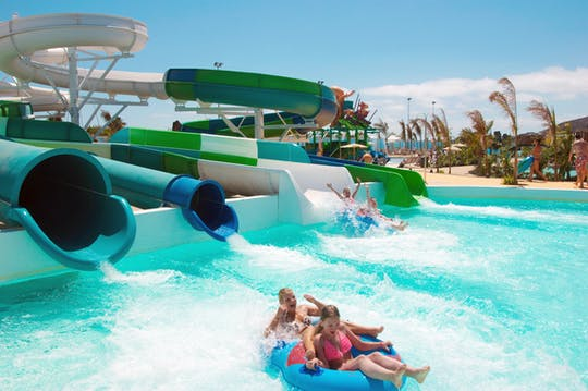 Aqualava Waterpark with Transfer