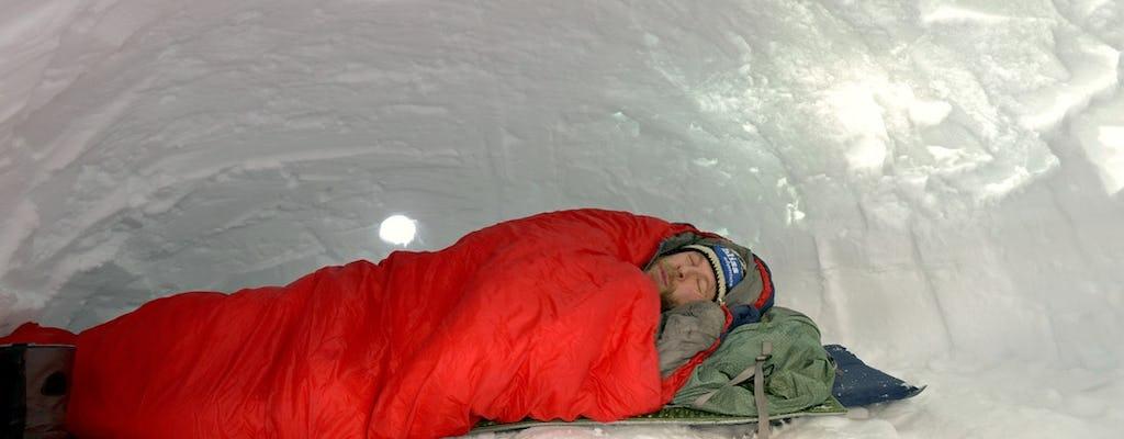 Oficina de sobrevivência noturna do Ártico