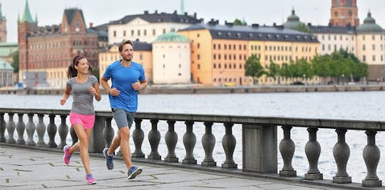 Jogging-Tour durch Stockholm