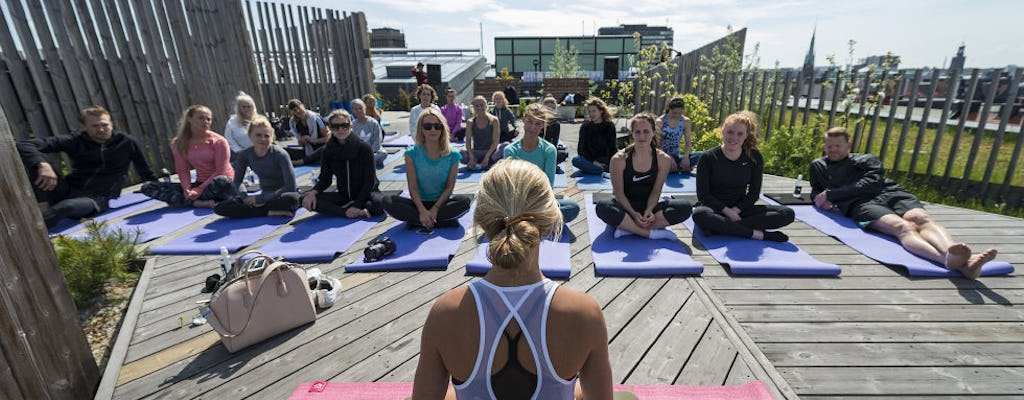 Stockholm yoga experience