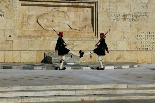 Visite de la ville d'Athènes et l'Acropole