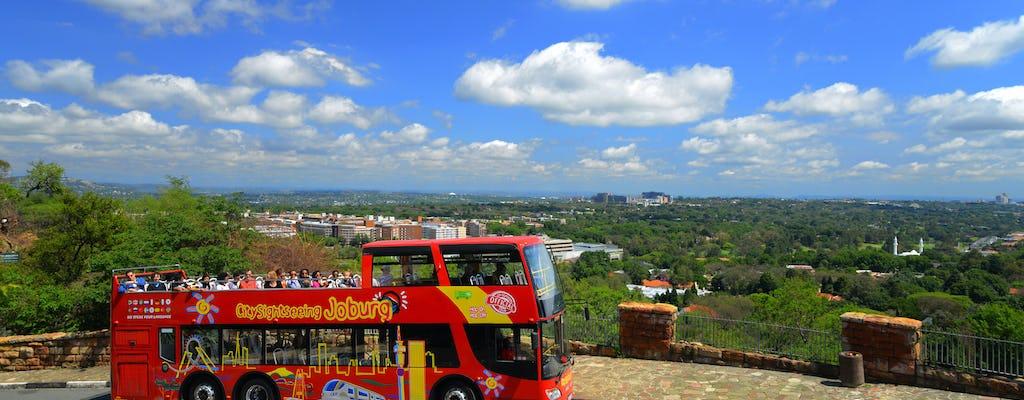 Johannesburg Hop-On-Hop-Off-Bustour - 24h oder 48h