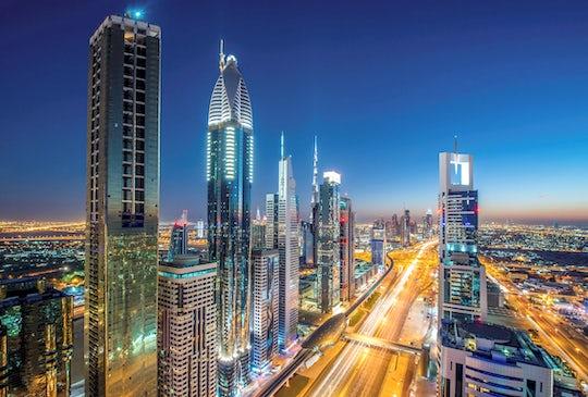 Polish tour of Dubai by night from Ras Al Khaimah
