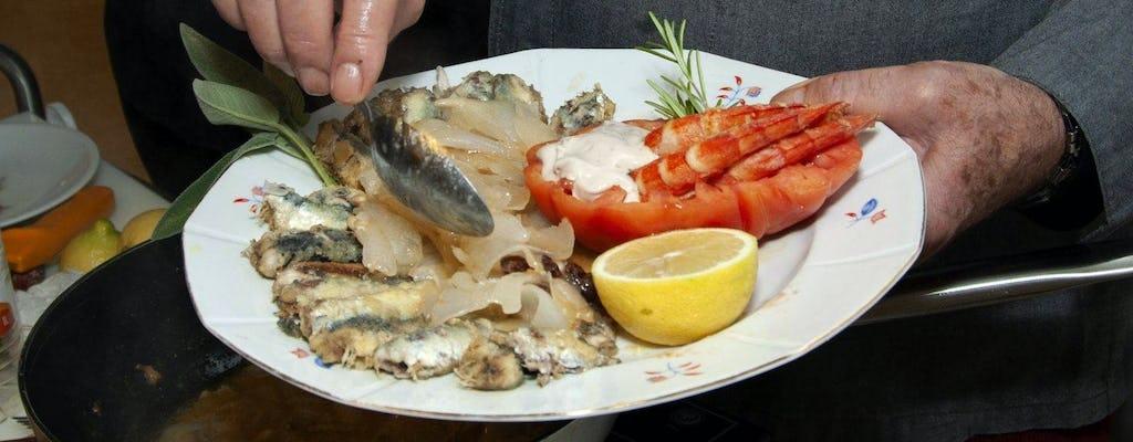 Spectacle de cuisine avec un célèbre chef vénitien
