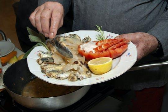 Кулинарное шоу с известным венецианским шеф-повар
