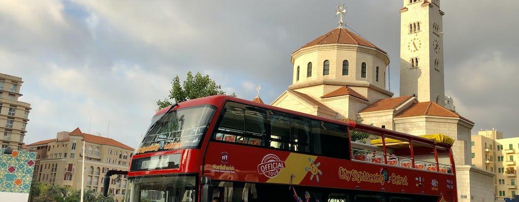 Excursão de ônibus hop-on hop-off Beirute - 24h ou 48h