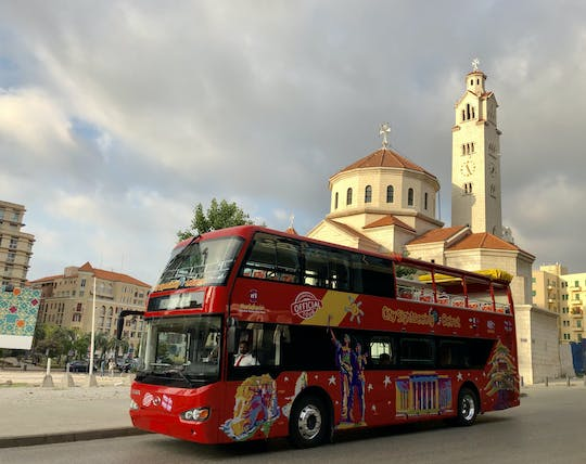 Hop-on hop-off bus tour Beirut - 24h or 48h