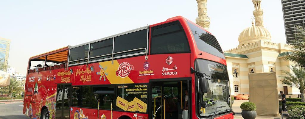 Hop-On Hop-Off Sharjah 24 ou 48 heures