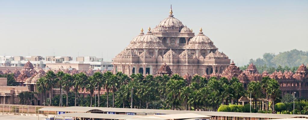 Visite d'une demi-journée du temple Swaminarayan Akshardham
