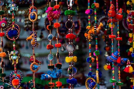 Half-day shopping tour of Delhi