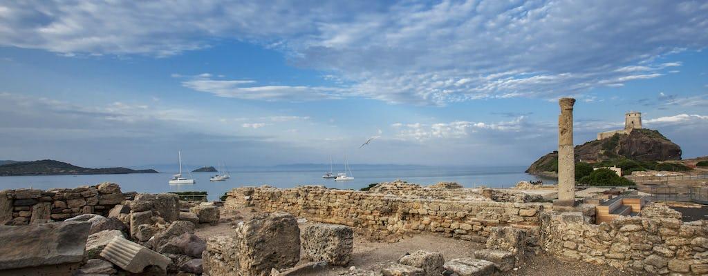 Экскурсия на археологические раскопки норы