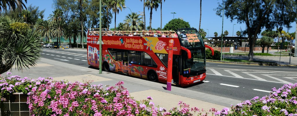 Pass per l'autobus hop-on hop-off di Las Palmas 24 ore