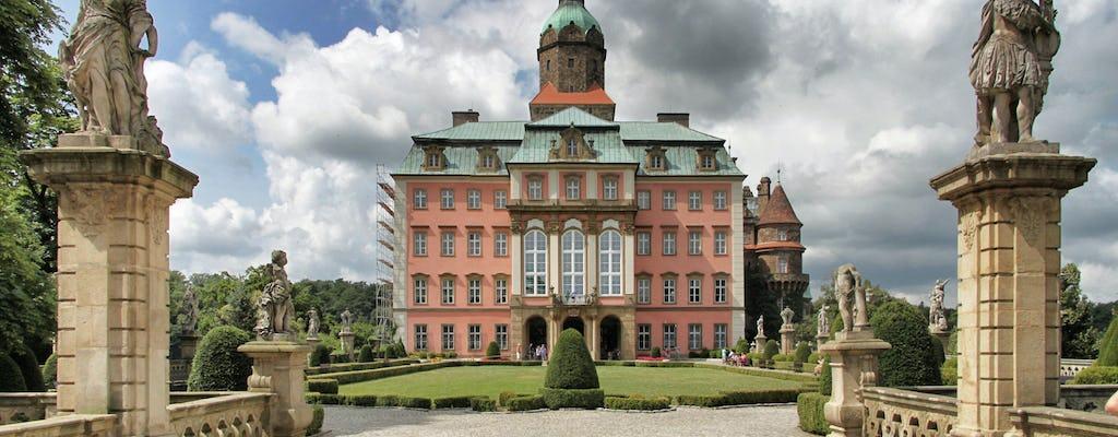 Visita guiada de 5 horas al castillo de Ksiaz de Wroclaw con transporte