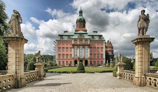 Visita guidata del castello di Ksiaz di 5 ore a Wroclaw con trasporto