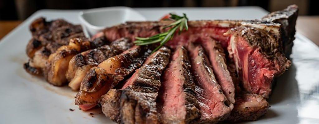 Cena in cantina con bistecca alla fiorentina & degustazione