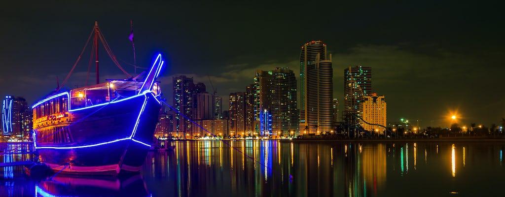 Abu Dhabi Dhow Boat Dinner Cruise