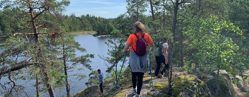 Guided hike in Stockholm Nature Reserve eco-tour