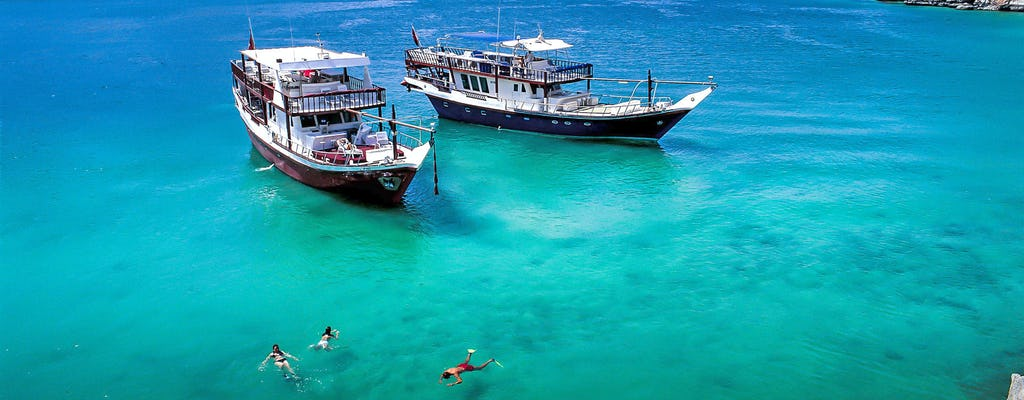 Oman Musandam cruise with transfer
