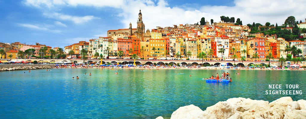 Italy by San Remo and France by Menton tour
