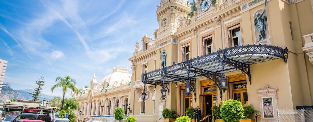 Excursão a Mônaco Monte-Carlo e Eze