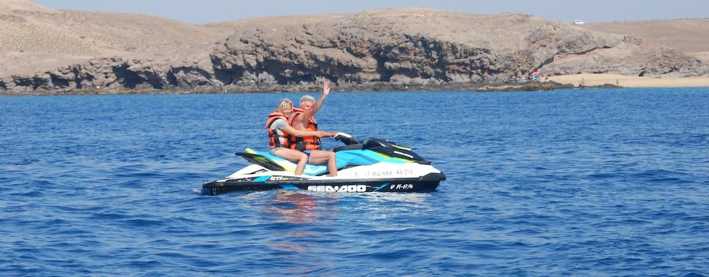 Balade en jetski à Playa Quemada