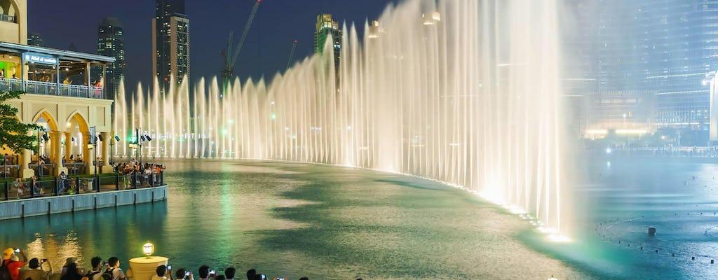 Scopri Dubai di notte