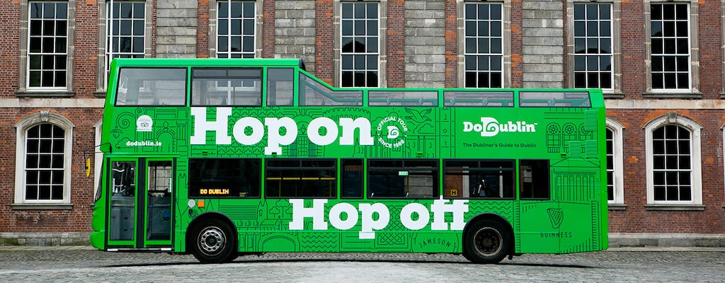 DoDublin hop-on, hop-off city tour
