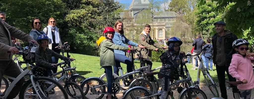 Visite en vélo ou vélo électrique du parc du Retiro à Madrid