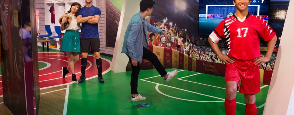COMBO: Madame Tussauds ™ + Singapore Cable Car