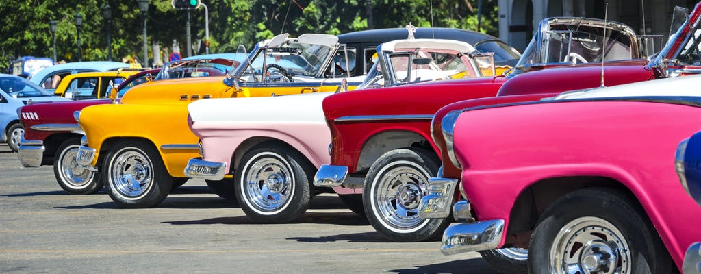 La Havane en voiture vintage