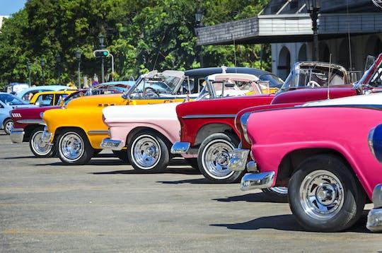 Visite de La Havane en voiture d'époque