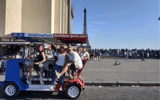 Tour do Beer Bike Bar em Paris