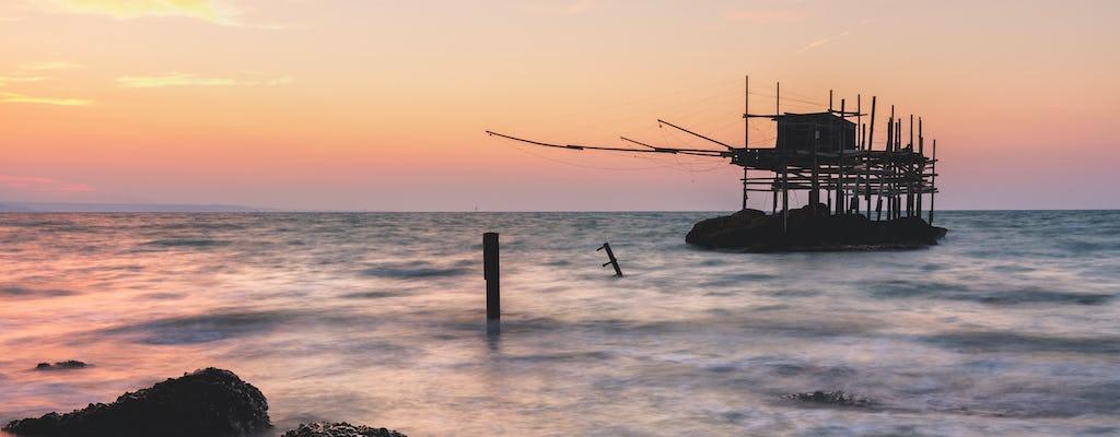 Tour fotografico di Punta Aderci all'alba o al tramonto
