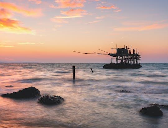 Tour fotográfico de Punta Aderci ao nascer ou pôr do sol