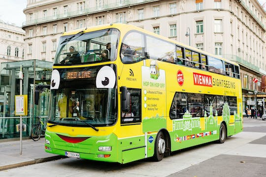 Classic Vienna 24-hour hop-on hop-off bus
