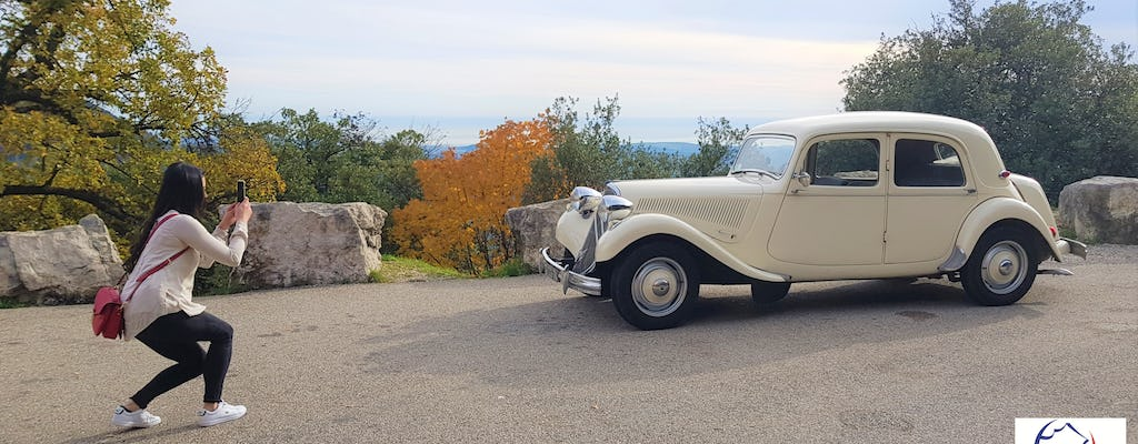 Tailor-made tour in a vintage car from Cannes