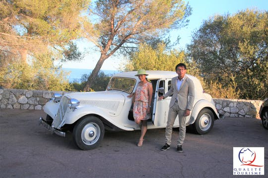 French Riviera private tour in a vintage car from Cannes