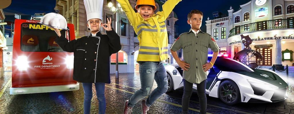 Dubai KidZania admission tickets