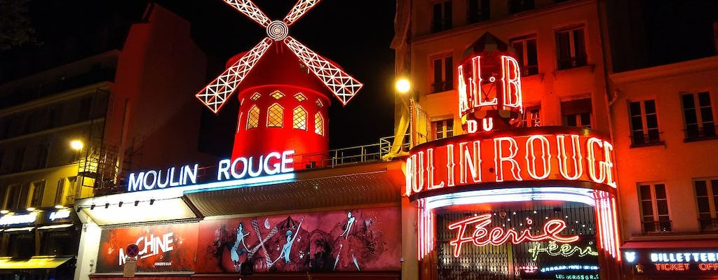 Seine River Cruise and Moulin Rouge Show  in Paris