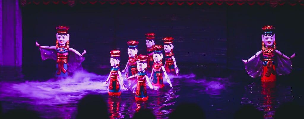 Pokaz kukiełek wodnych w Hanoi