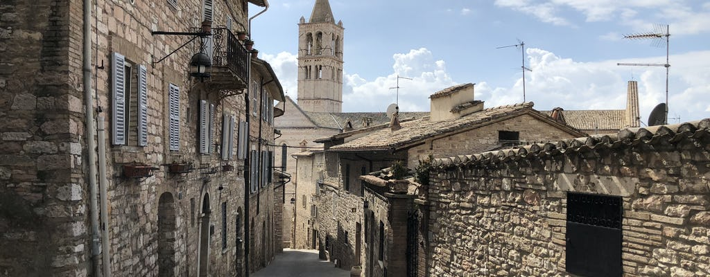 Assisi self-guided tour
