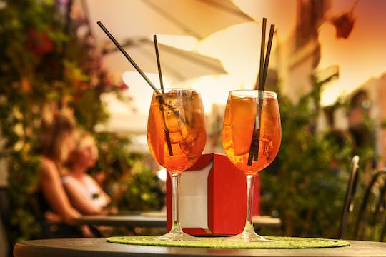 Evening walking tour of Rome with aperitif