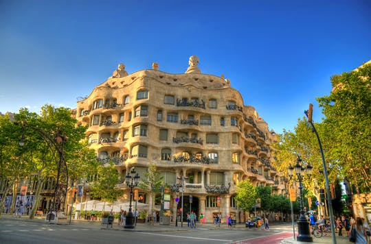 La Pedrera skip-the-line tickets with audio guide