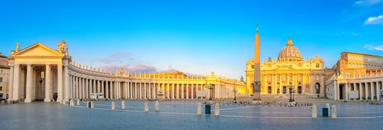 Skip-the-line audio-guided tour of the Vatican City and Castel Gandolfo
